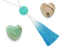 www.sayila.com - New natural stone beads and necklaces with tassels