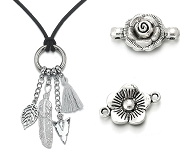 www.sayila.com - New flower connectors and necklaces