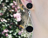 www.sayila-perles.be - Sayila Projet Bijoux Wire Wrap Earrings