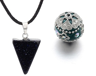 www.sayila.com - New Kashmiri beads and natural stone pendants