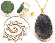 www.sayila.es - Nuevos pendientes tribal y joyería de piedra natural