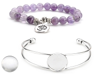 www.sayila.co.uk - New bracelets with cabochons and natural stone