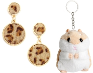 www.sayila.co.uk - New fluffy earrings and key fobs
