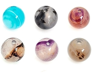 www.sayila.co.uk - New Agate beads in various sizes