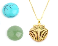 www.sayila.com - New natural stone cabochons and beads
