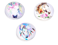 www.sayila.com - New cabochons with horses and unicorns
