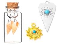 www.sayila.com - New: jewelry in glass bottles