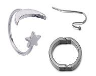 www.sayila-perles.be - Nouveaux composants boucle d'oreilles en acier inoxydable