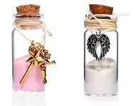 www.sayila-perles.be - Nouveau: bouteilles de voeux avec bijoux