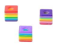 www.sayila-perles.be - Nouvelles perles cube colorées