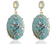 www.sayila-perles.be - Nouvelles boucles d'oreilles fleuries