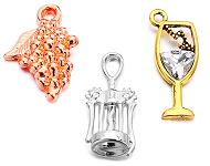 www.sayila-perles.be - Nouveaux pendentifs à vin
