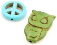 www.sayila.co.uk - New Turquoise Howlite beads