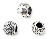 www.sayila.co.uk - New 925 silver large-hole-style beads