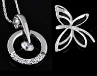 www.sayila.co.uk - New 925 silver pendants