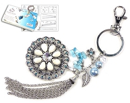 www.sayila.co.uk - New DoubleBeads key fob jewelry kits
