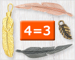 Selected feathers 4=3