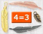 Ausgewählte Federn 4=3