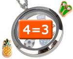 Geselecteerde Floating Charms 4=3