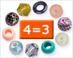Mélanges de perles sélectionnés 4=3