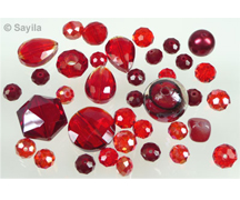 Glass beads crystal