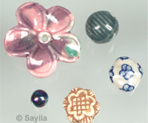 Porcelain/ceramic beads
